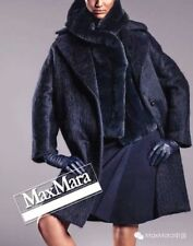 MAX MARA  COAT  TEDDY  BLUE   New!  46 IT