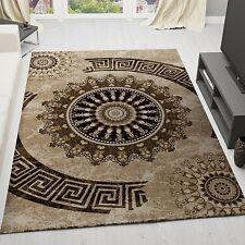 Moderner Designer Teppich carpet *Braun* NEU Blitzversand Läufer tapis