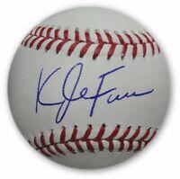 Kyle Farmer Hand Signed Autograph MLB Baseball LA Dodgers Beckett COA