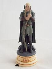 Figurine Collection Jeux d'Echecs Seigneur des Anneaux Légolas Fou Blanc Figure