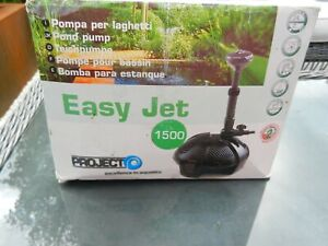 PROJECT Easy Jet 1500 fountain pond or water feature pump Good working condition