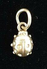 Retired James Avery 14k Yellow Gold Ladybug Charm