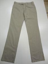 ARMANI Jeans Gr. 50 L34 beige-grau Hose Trousers Pantalon Baumwolle