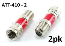 2-Pack 10 dB Inline Attenuator Pad F-type coaxial connection male/female ATT-410