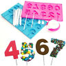 Lollipop Making Kit Silicone Mold Flex Trays Decoration Candy Chocolate Party