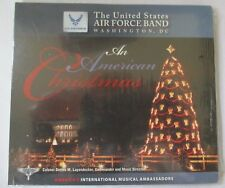 """UNITED STATES AIR FORCE CONCERT BAND """"AN AMERICAN CHRISTMAS"""" CD - BRAND NEW"""