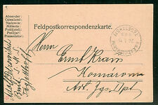 1915, Hungary Naval card, ship 'TEGETTHOFF'
