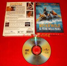 THE RIVER WILD Il Fiume della Paura (Meryl Streep) - Dvd JEWEL Box - USATO - ET