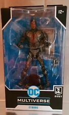 """McFarlane Toys DC Multiverse Justice League 2021 Cyborg 7"""" Action F"""