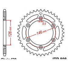 Couronne acier 43 dents rm/rm-z/dr-z Jt sprockets JTR808.43
