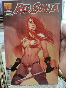 RED SONJA #16 Dynamite Comics 2013 Early JENNY FRISON Variant NM-