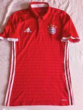 Fc Bayern München authentic Spieler Trikot Player Match issue Adizero jersey rar