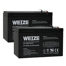 Weize 12V 9AH Lead Acid Battery for APC UPS Computer Backup Power BX1300LCD 2P
