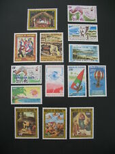 Wallis et Futuna  Stamps French Colonies  N° PA 113 à 124  + 129 / 131 neuf **