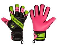 Supersave SS Premier N4 Pink Special Negative Cut Football Goalkeeper Gloves
