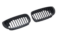 BMW 3 E46 LCI Facelift Coupe Cabriolet M M3 Black Kidney Sport Grill Grilles -05