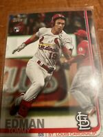 2019 Topps Update Tommy Edman #US84 Rookie Card RC St. Louis Cardinals A239