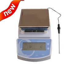 For Lab Hot Plate Magnetic Stirrer Electric Heating Mixer Temperature to 300℃