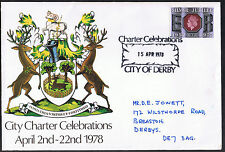 Derby City Charter Celebrations Cover April 2nd - 22nd 1978 with insert
