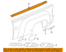 GM OEM Bed or Tailgate-Top Molding Trim Protector Cap Left 25808209