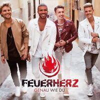 FEUERHERZ - GENAU WIE DU   CD NEUF