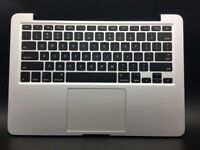 "Apple MacBook Pro 13"" A1502 2015 Top Case A1582 Battery Keyboard TrackPad READ"