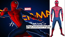 CUSTOM ! FREE WORLD WIDE SHIP Movie Homecoming Spiderman Peter Costume Cosplay