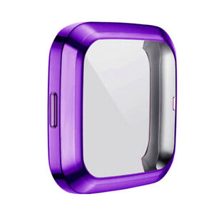 Full Screen Protector For Fitbit Versa 2 Watch Protect Bumper Cover Case Coloful