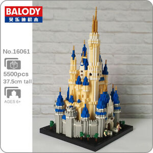 Balody16061 Architecture Royal Castle 3D DIY Mini Diamond Blocks Building Toys