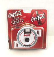 Vintage Coca Cola 35mm Camera Brand New!!  Reusable!!  Preloaded With Film!!