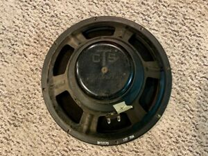 "CTS 12"" Alnico Speaker, Vintage Ampeg - RECONED"