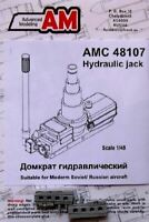 ADVANCED MODELING 1/48 HYDRAULIC JACK (2) FOR SOVIET AIRCRAFT (D) | 48107