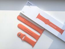 GENUINE APPLE WATCH SPORT BAND STRAP 42/44 mm SPICY ORANGE - *EXTREMELY RARE*