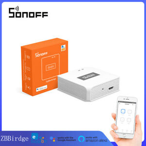SONOFF Zigbee Bridge Gateway Wifi Wireless Smart Home APP Remote Control Switch