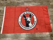 New listing Club Tijuana Xolos Flag Banner 3x5 ft Mexico Futbol Soccer Bandera Roja 2020