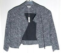 Max Studio Womens Gray Long Sleeve Jacket Top Size L MSRP $98