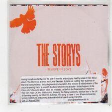 (FS905) The Storys, I Believe In Love - 2006 DJ CD
