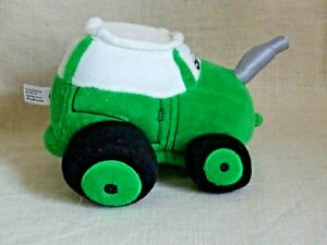 Tractor Ted Soft Toy, Green TED 1   5 inches tall 6 inches wide