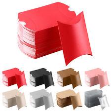 52pcs Wedding Favor Box Cute Kraft Paper Pillow Party Favour Gift  Candy Bag UK