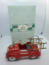 Hallmark Kiddie 1941 steelcraft by Murray fire truck car classics 1998