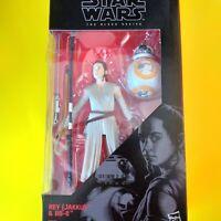 Star wars 6 inch black series Rey Jakku & Bb,b