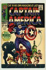CAPTAIN AMERICA #100 ( 1967 ) VF ( BIG PREMIERE ISSUE ) STAN LEE & JACK KIRBY