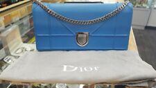 Christian Dior Calfskin Large Diorama Croisiere Chain Wallet