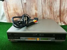 SHARP DV-NC70 DVD VHS VCR VIDEO COMBI COMBO PLAYER recorder SILVER MADE IN UK