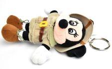 Disney World Animal Kingdom Safari Minnie Mouse Plush Doll Key Chain EUC