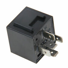 5 Pin LED Flasher Relay Car Turn Signal Indicator Blinker Light Black Universal