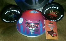 DISNEYLAND CARS 2 LIGHTNING MCQUEEN MICKEY EARS HAT BOX LE1000 PIN PIXAR DISNEY