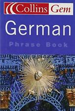 Collins Gem - German Phrase Book - Collins - Acceptable - Paperback