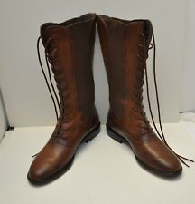 Stylish Cole Haan Womens Lace Up Boots Size 8 1/2