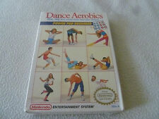 BRAND NEW IN BOX FACTORY SEALED DANCE AEROBICS NINTENDO NES VIDEO GAME NIB NFS